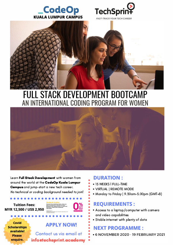 CodeOp Full-Stack Development Bootcamp