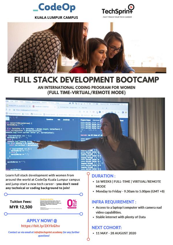 CodeOp's Full Stack Development (FSD)